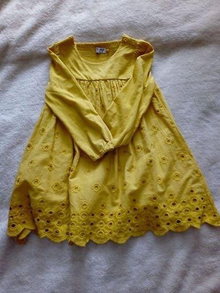 Next dress size 3/4 yrs
