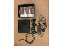 Xbox 360 E 250GB + 18 Games