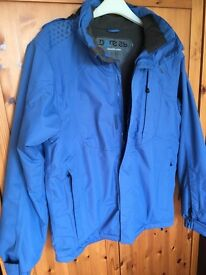 "Ski Jacket - small adult 38"" chest - blue"