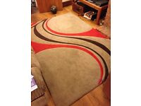 Light brown rug. Used but good condition. 160x231