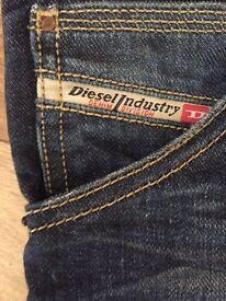 Men's Diesel Jeans.
