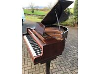 "John Broadwood 5""ft baby grand piano rosewood case"