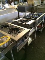 Restaurant Stoves, Grills, Hot-pads, Food Warmers, Microwaves