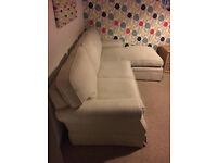 Laura Ashley chaise end sofa