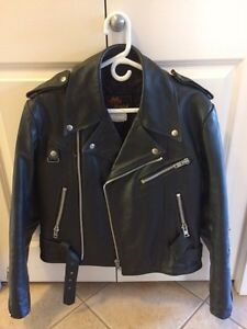 Classic Old School Bristol Leather Jacket!