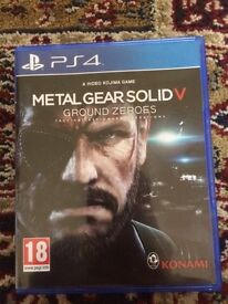 Metal gear solid ground zeros