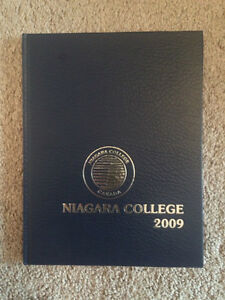 Niagara College 2009 Yearbook - See Photo's Mint Condition