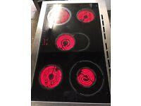 Range ceramic halogen electric cooker 90cm