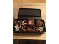 Big box of costume jewellery