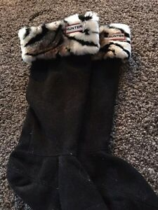 Tall hunter boot socks size m