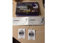 **REDUCED** 2 x Tickets to Newmarket nights The Jacksons