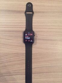 BLACK APPLE WATCH 42mm