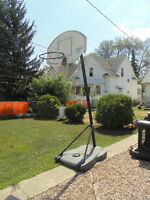 FREE Free standing Basketball hoop, with net!!