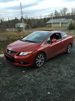 2012 Honda Civic Si Coupe (2 door) With Nav