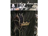 Remo Gold Crown Drum Kit Rare ( ex demo)
