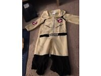 Toddler ghostbuster costume excellent condition