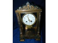 Ullman & Co French 4 glass mantle clock c1905.