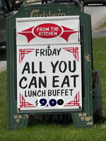 Club Alouette Friday BUFFETS