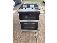 Zanusi free standing cooker with top oven and grill