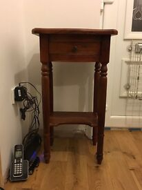 Telephone table, £25