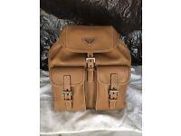 Brand new Genuine calfskin prada backpack