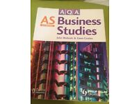 AS Business Studies textbook by John Wolinski and Gwen Coates