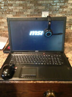 Acer Aspire MSI Dragon Army Gaming Laptop only 5 months old