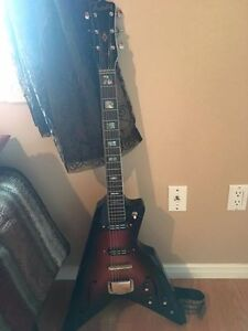 late 1960's Ardsley semi hollow V shape electric St. John's Newfoundland image 1