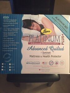 PLATINUM PLUS Advanced Quilted Mattress & Health Protector