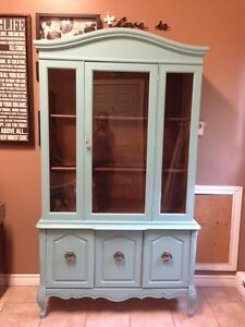Display Cabinet- Beautifully Refinished