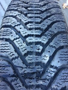 Good year Winter tires with Rim for sale