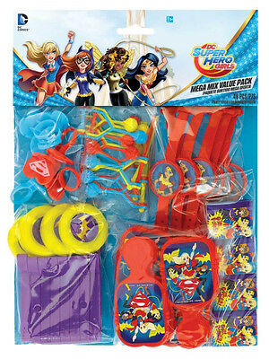 48 x DC Superhero Batgirl Supergirl Birthday Party Favor Favour Loot Bag Toys - Batgirl Party Favors