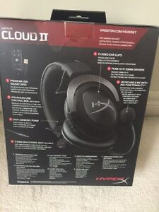 HyperX Cloud II Gaming Headset with 7.1 Virtual Surround Sound