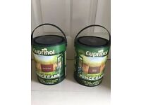 Cuprinol Fence Paint - Autumn Red and Rustic Brown