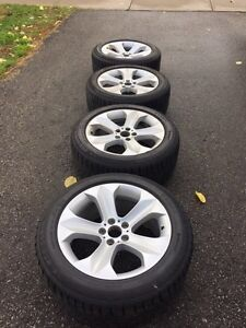 BMW X6 OEM Rims W/ Continental Winter Tires