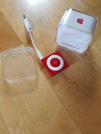 iPod shuffle 2gb RED