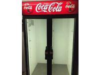 Double door drinks fridge