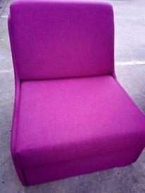 John Lewis Single Chair Bed