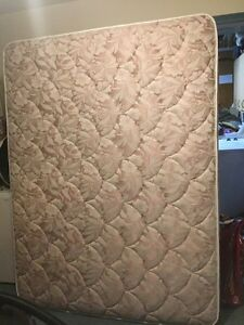 Queen size mattress and box spring-SOLD-