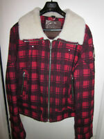BRAND NEW MENS MOOSE KNUCKLES FLANNEL AVIATOR XL