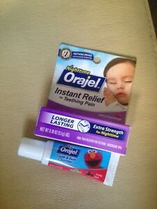 Orajel nighttime plus tooth and gum cleaner