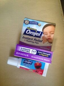 Orajel nighttime plus tooth and gum cleaner Kitchener / Waterloo Kitchener Area image 1