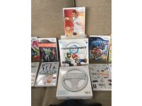 Nintendo Wii, WiiFit Board & Accessories
