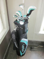 Set de Golf 10 Bâtons Dunlop Loco Femme Droitier ou Gaucher NEUF