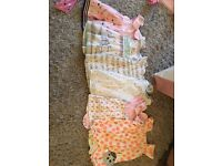 baby girl clothes bundle 0-3