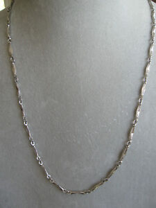 BEAUTIFUL SARAH COVENTRY 22-INCH SILVERTONE NECKLACE...