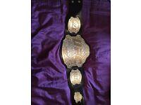 Exact replica UFC championship belt