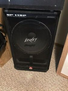 Peavey 18inch Powered Subwoofer