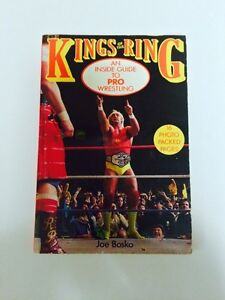 KINGS OF THE RING AN INSIDE GUIDE TO PRO WRESTLING BOOK WWF NWA London Ontario image 1
