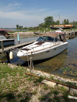 TURN KEY AND GO 26 FT SEARAY .EXCELLENT BOAT..